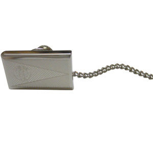 Silver Toned Etched Eritrea Flag Tie Tack